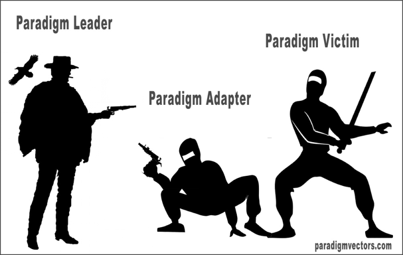 Paradigms-gun-to-knife-fight